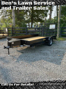 2022 Doolittle UT84X143KSS for sale at Ben's Lawn Service and Trailer Sales in Benton IL