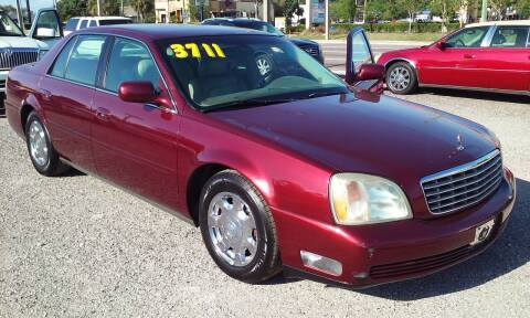 2002 Cadillac DeVille for sale at Pinellas Auto Brokers in Saint Petersburg FL