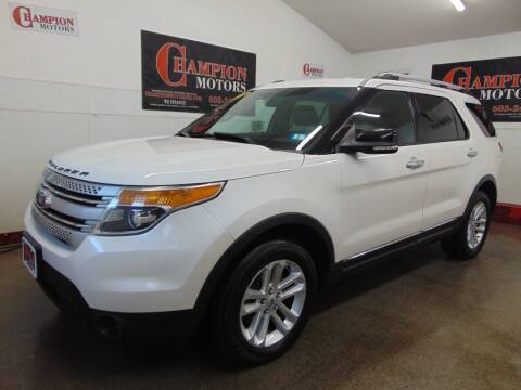 2013 Ford Explorer for sale at Champion Motors in Amherst NH