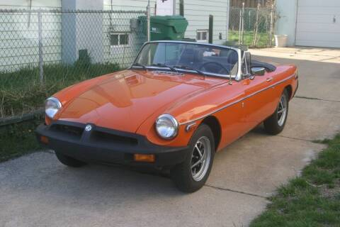 1979 MG MGB for sale at Great Lakes Classic Cars & Detail Shop in Hilton NY