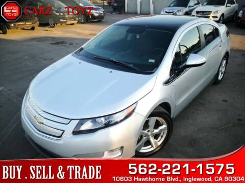 2011 Chevrolet Volt for sale at Carz 4 Toyz in Inglewood CA