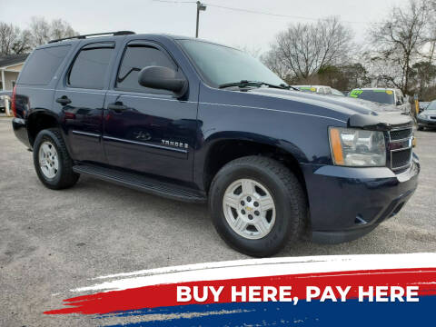 2007 Chevrolet Tahoe for sale at Rodgers Enterprises in North Charleston SC