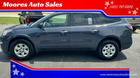2013 Chevrolet Traverse for sale at Moores Auto Sales in Greeneville TN