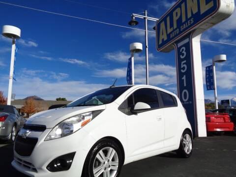 2014 Chevrolet Spark for sale at Alpine Auto Sales in Salt Lake City UT