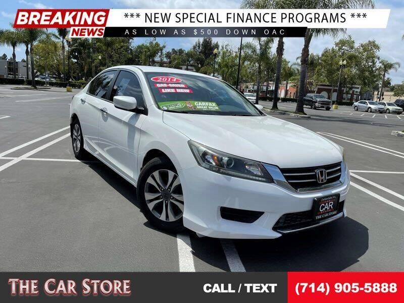 2014 Honda Accord for sale at The Car Store in Santa Ana CA