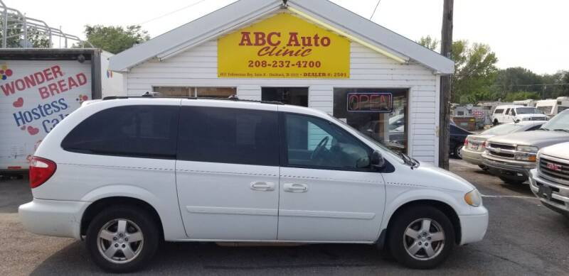2005 Dodge Grand Caravan for sale at ABC AUTO CLINIC - Chubbuck in Chubbuck ID