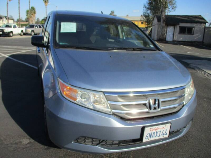 2011 Honda Odyssey for sale at F & A Car Sales Inc in Ontario CA