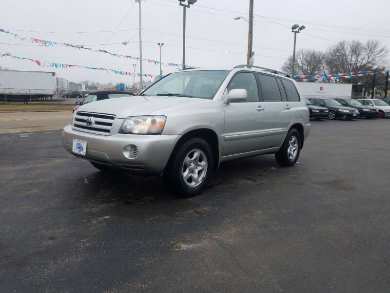 2004 Toyota Highlander for sale at THE AUTO SHOP ltd in Appleton WI