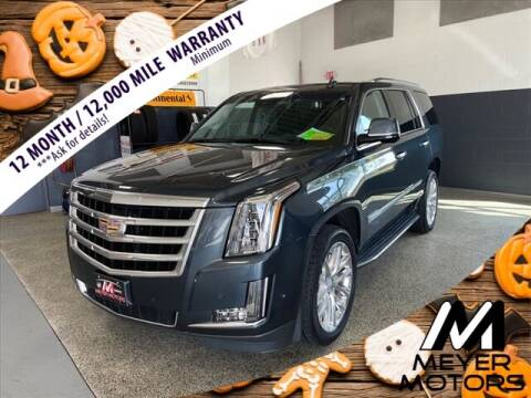 2019 Cadillac Escalade for sale at Meyer Motors in Plymouth WI