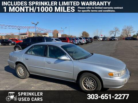 2005 Buick Century for sale at Sprinkler Used Cars in Longmont CO