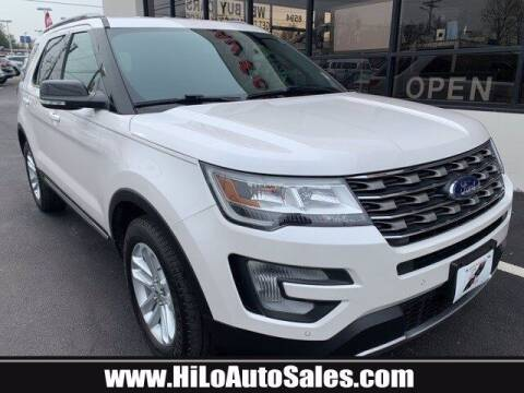 2017 Ford Explorer for sale at Hi-Lo Auto Sales in Frederick MD