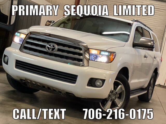 2008 Toyota Sequoia for sale at Primary Auto Group in Dawsonville GA