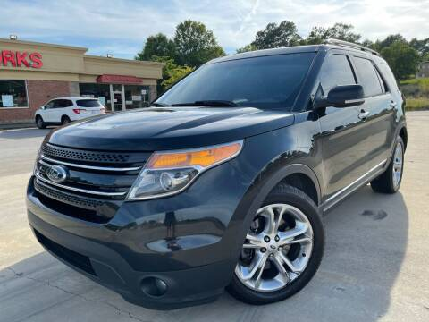 2014 Ford Explorer for sale at Gwinnett Luxury Motors in Buford GA