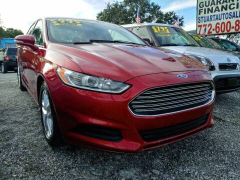 2014 Ford Fusion for sale at AFFORDABLE AUTO SALES OF STUART in Stuart FL