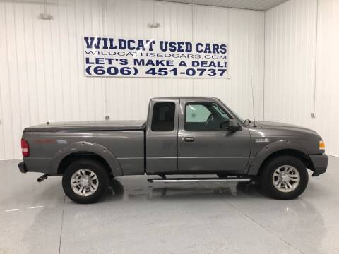 2007 Ford Ranger for sale at Wildcat Used Cars in Somerset KY