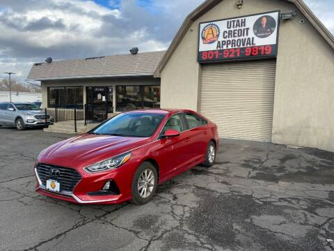 2019 Hyundai Sonata for sale at Utah Credit Approval Auto Sales in Murray UT
