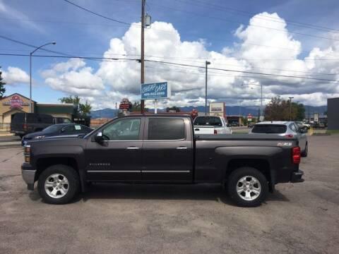2015 Chevrolet Silverado 1500 for sale at CHEAP CARS in Missoula MT