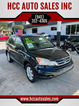 2011 Honda CR-V for sale at HCC AUTO SALES INC in Sarasota FL