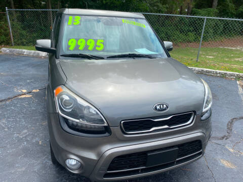 2013 Kia Soul for sale at TOP OF THE LINE AUTO SALES in Fayetteville NC