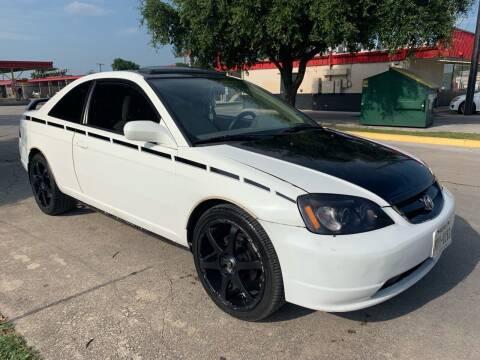 2001 Honda Civic for sale at C.J. AUTO SALES llc. in San Antonio TX
