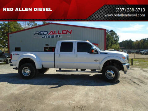 2011 Ford F-350 Super Duty for sale at RED ALLEN DIESEL in Anacoco LA