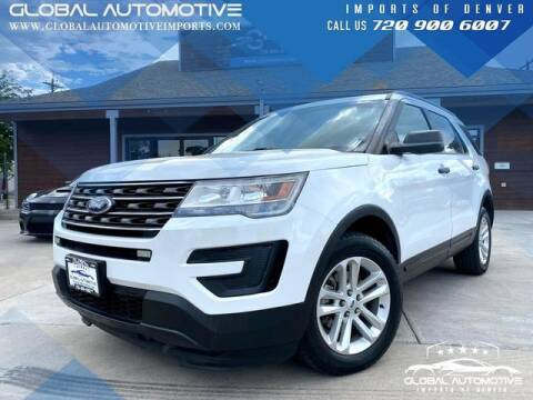 2017 Ford Explorer for sale at Global Automotive Imports of Denver in Denver CO