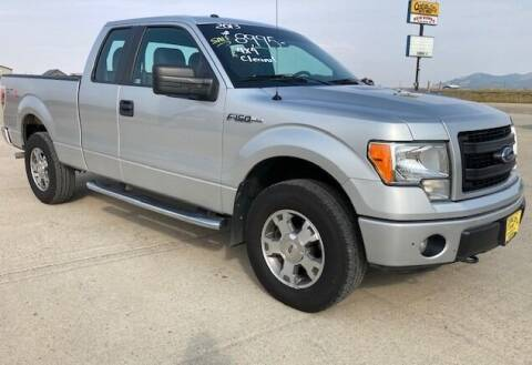 2013 Ford F-150 for sale at Central City Auto West in Lewistown MT