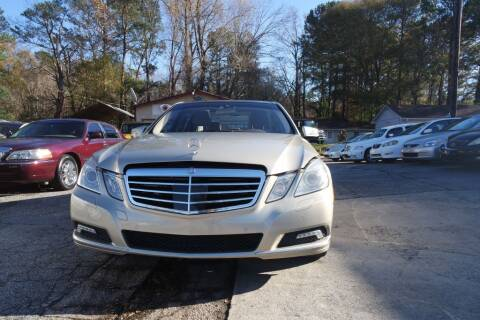 2010 Mercedes-Benz E-Class for sale at E-Motorworks in Roswell GA