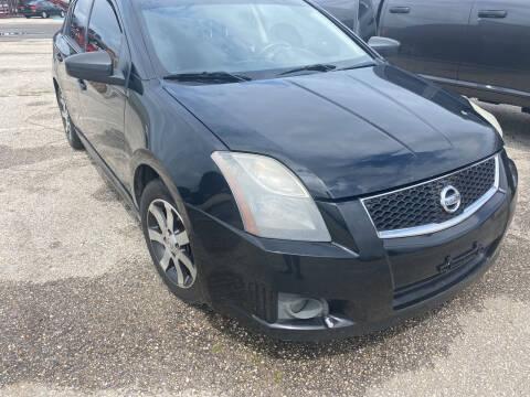 2012 Nissan Sentra for sale at Nash's Auto Sales Used Car Dealer in Milton FL