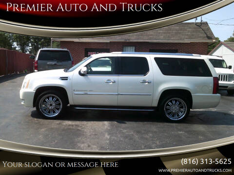 2007 Cadillac Escalade ESV for sale at Premier Auto And Trucks in Independence MO