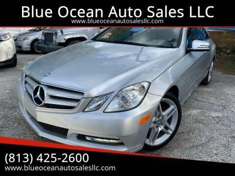 2012 Mercedes-Benz E-Class for sale at Blue Ocean Auto Sales LLC in Tampa FL