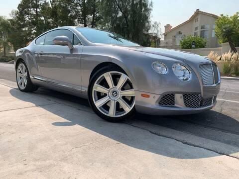 2012 Bentley Continental for sale at Boktor Motors in Las Vegas NV