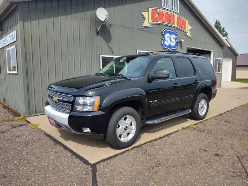 2012 Chevrolet Tahoe for sale at CARS ON SS in Rice Lake WI
