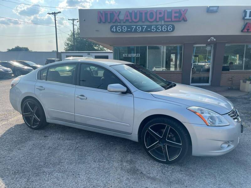 2012 Nissan Altima for sale at NTX Autoplex in Garland TX