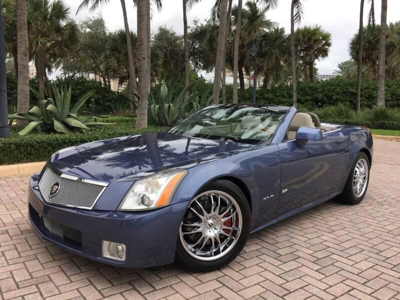 2005 Cadillac XLR for sale at FIRST FLORIDA MOTOR SPORTS in Pompano Beach FL