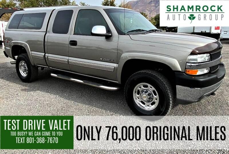 2002 Chevrolet Silverado 2500HD for sale at Shamrock Group LLC #1 in Pleasant Grove UT