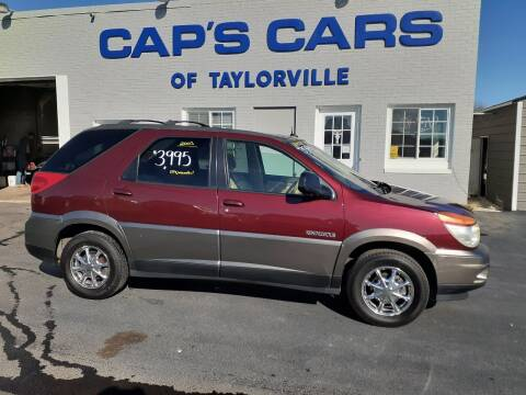 2003 Buick Rendezvous for sale at Caps Cars Of Taylorville in Taylorville IL