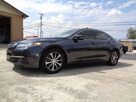 2015 Acura TLX for sale at Ingram Motor Sales in Crossville TN