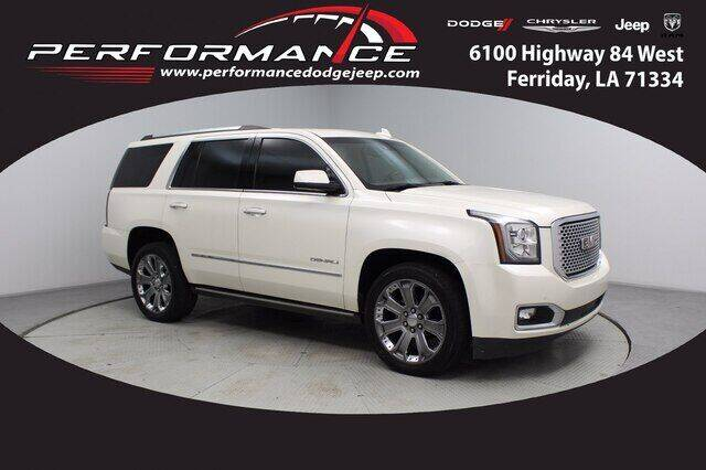 2015 GMC Yukon for sale at Performance Dodge Chrysler Jeep in Ferriday LA
