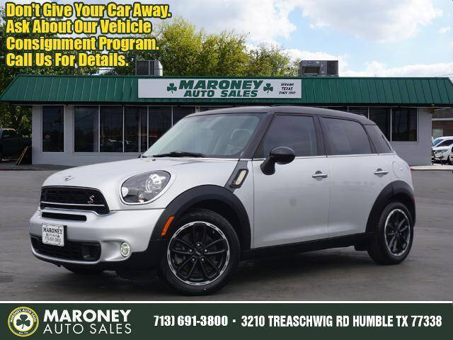 2015 MINI Countryman for sale at Maroney Auto Sales in Humble TX