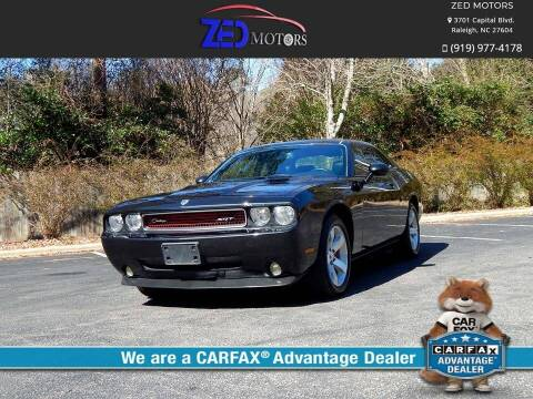 2009 Dodge Challenger for sale at Zed Motors in Raleigh NC