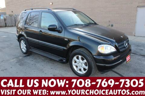 2001 Mercedes-Benz M-Class for sale at Your Choice Autos in Posen IL