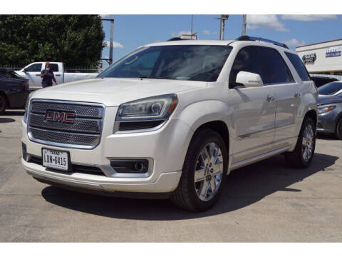 2013 GMC Acadia for sale at Monthly Auto Sales in Fort Worth TX