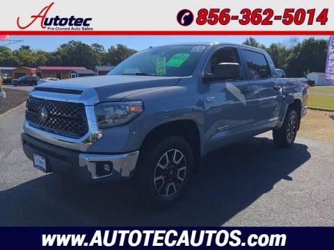 2018 Toyota Tundra for sale at Autotec Auto Sales in Vineland NJ