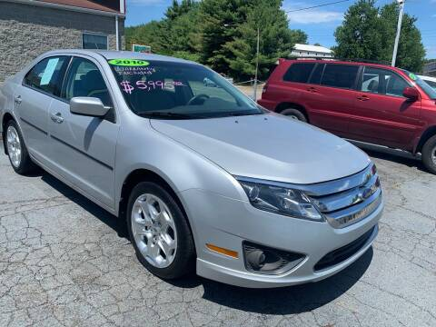 2010 Ford Fusion for sale at G & G Auto Sales in Steubenville OH