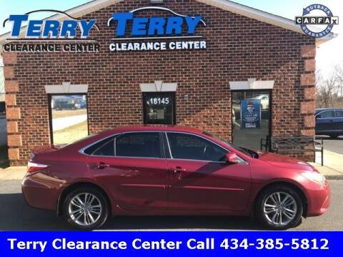 2015 Toyota Camry for sale at Terry Clearance Center in Lynchburg VA