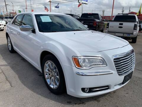 2012 Chrysler 300 for sale at JAVY AUTO SALES in Houston TX