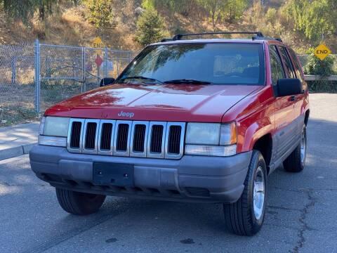 1998 Jeep Grand Cherokee for sale at ZaZa Motors in San Leandro CA