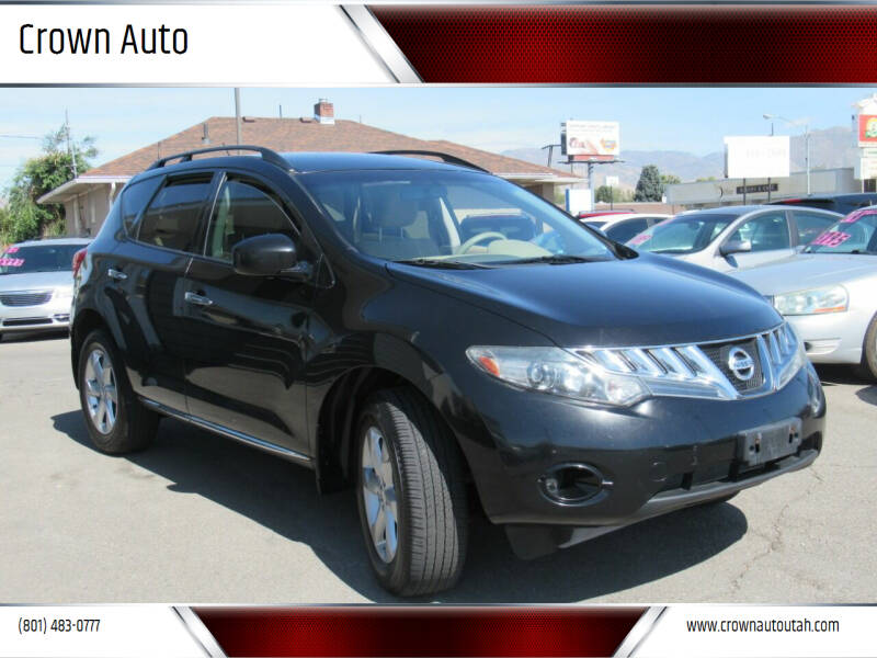 2009 Nissan Murano for sale at Crown Auto in South Salt Lake City UT