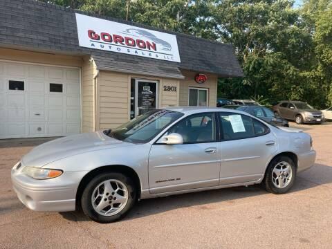 2003 Pontiac Grand Prix for sale at Gordon Auto Sales LLC in Sioux City IA